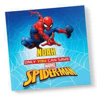 Image of Only You Can Save Spider-Man Book - Paperback - Personalizable # 1
