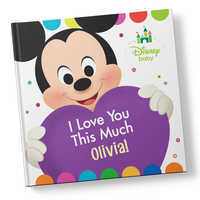 Image of Disney Baby: I Love You This Much Book - Hardback - Personalizable # 1