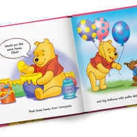 Image of Winnie the Pooh: Pooh Loves You Book - Hardback - Personalizable # 3