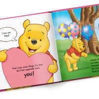 Image of Winnie the Pooh: Pooh Loves You Book - Hardback - Personalizable # 4