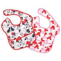 Image of Minnie Mouse Superbib Set for Baby by Bumkins # 1