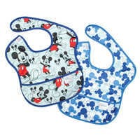 Image of Mickey Mouse Superbib Set for Baby by Bumkins # 1