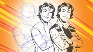 Elsa Charretier Teaches Us How to Draw Han Solo