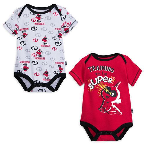 Incredibles 2 Disney Cuddly Bodysuit Set for Baby