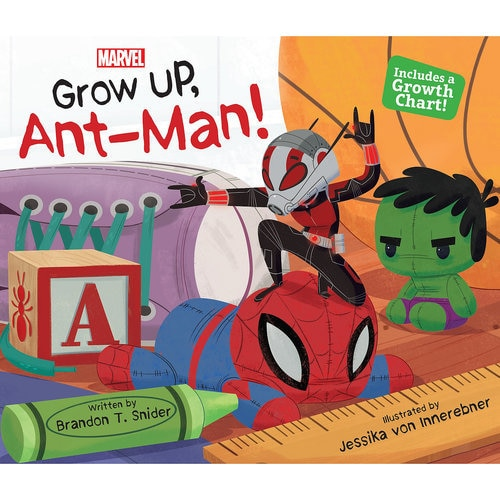 Grow Up, Ant-Man! Book