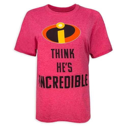 Incredibles 2 Couples T-Shirt for Adults - ''He's Incredible''