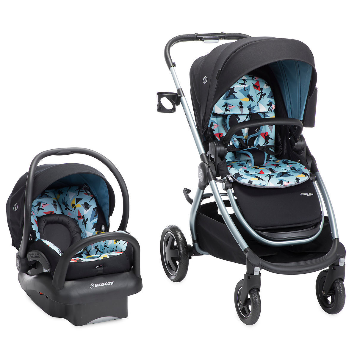 Product Image Of Incredibles 2 Modular Car Seat And Stroller Travel System By Maxi Cosi