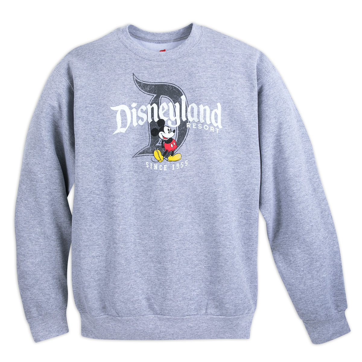 d8438b5fb0d Product Image of Mickey Mouse with Disneyland Fleece Sweatshirt for Adults    1