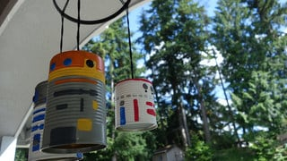 Upcycle Your Near-Sighted Scrap Pile Into DIY Droid Wind Chimes