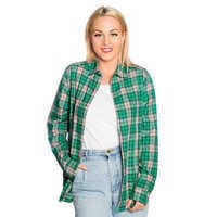 Image of Tiana Flannel Shirt for Adults by Cakeworthy # 4