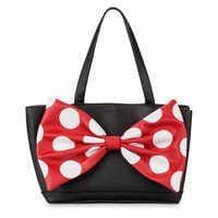 Image of Minnie Mouse Signature Satchel by Loungefly # 1