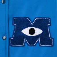 Image of Monsters University Hooded Varsity Jacket for Adults # 5