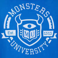 Image of Monsters University Hooded Varsity Jacket for Adults # 7