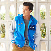 Image of Monsters University Hooded Varsity Jacket for Adults # 2