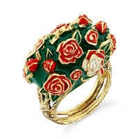 Image of Alice in Wonderland Roses Ring by RockLove # 1