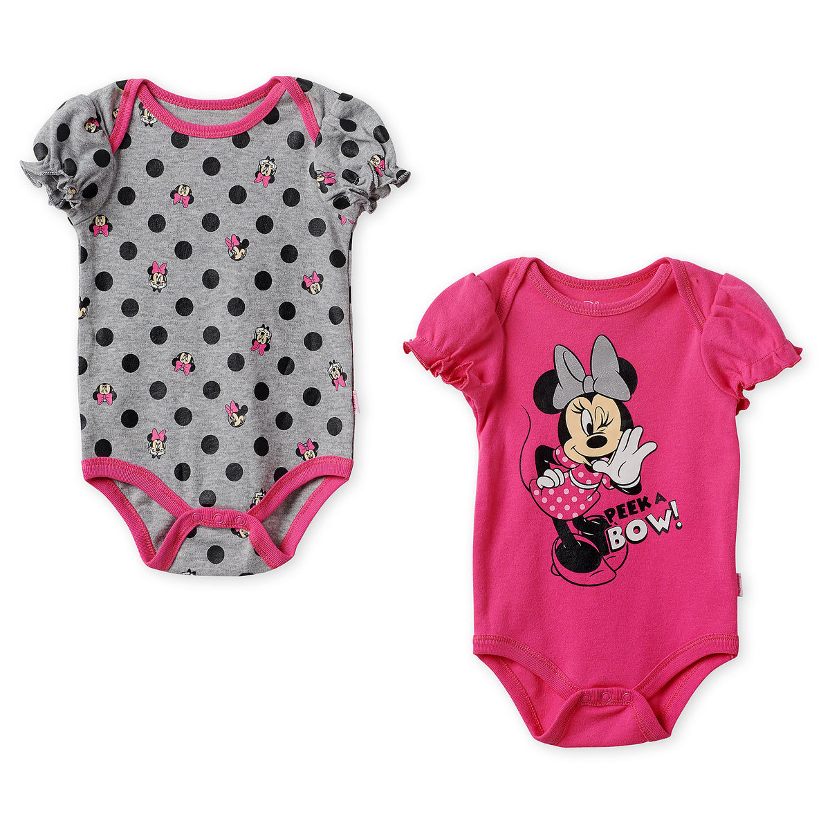 52941f82 Product Image of Minnie Mouse Bodysuit Set for Baby - Pink # 1