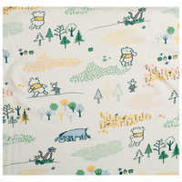 Image of Winnie the Pooh Knit Crib Sheet by Hanna Andersson # 3