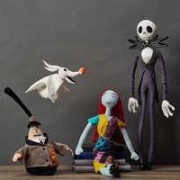 Image of Jack Skellington Plush Toy - Tim Burton's The Nightmare Before Christmas - Medium # 2