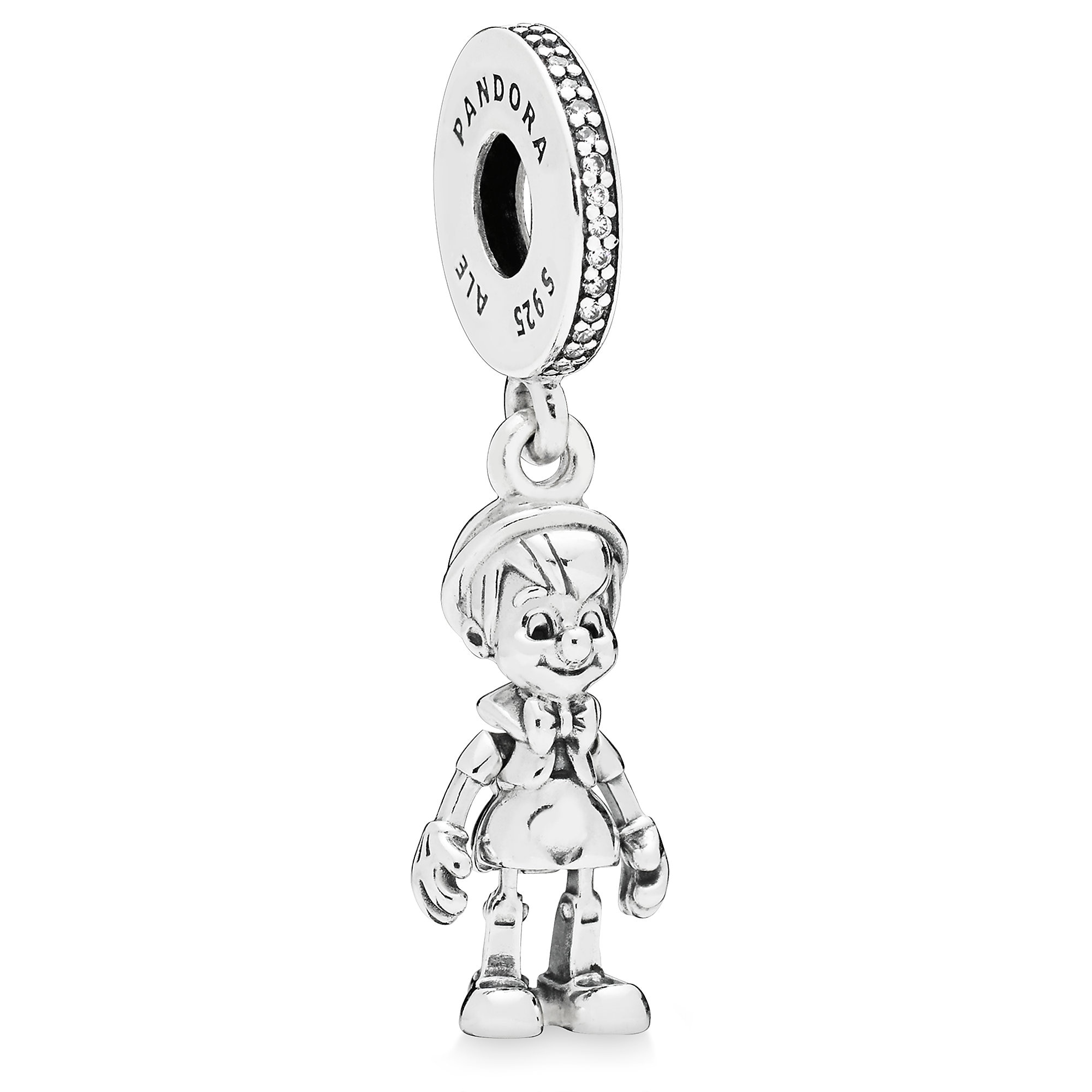 731b1c708 ... necklace in sterling silver 5b673 get product image of pinocchio charm  by pandora 1 67811 e67cc ...