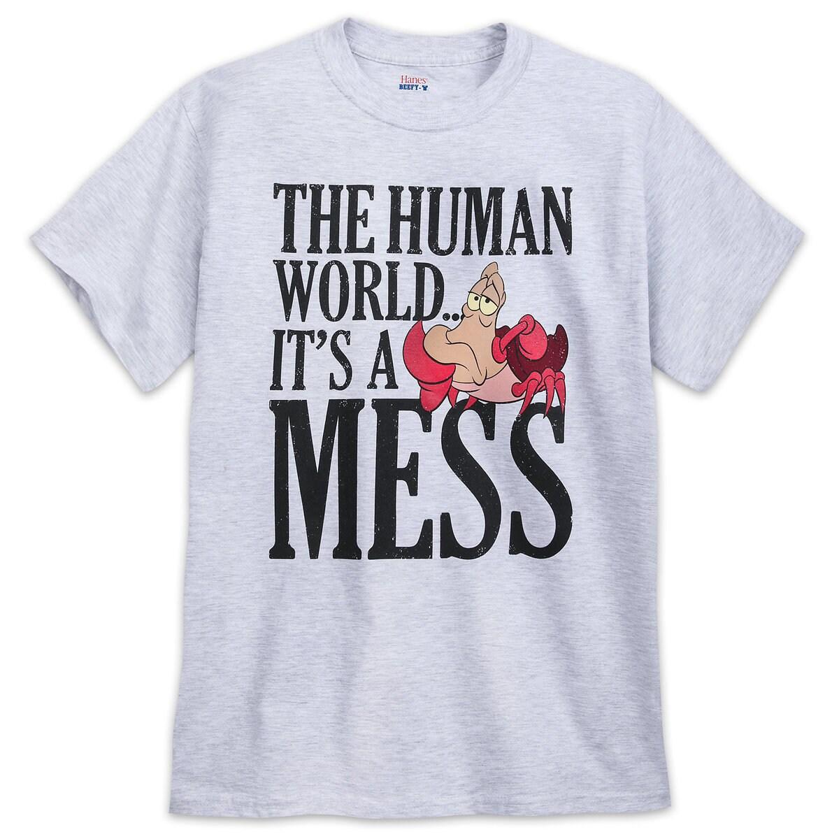 30b1fdd6984e Product Image of Sebastian T-Shirt - The Little Mermaid # 1