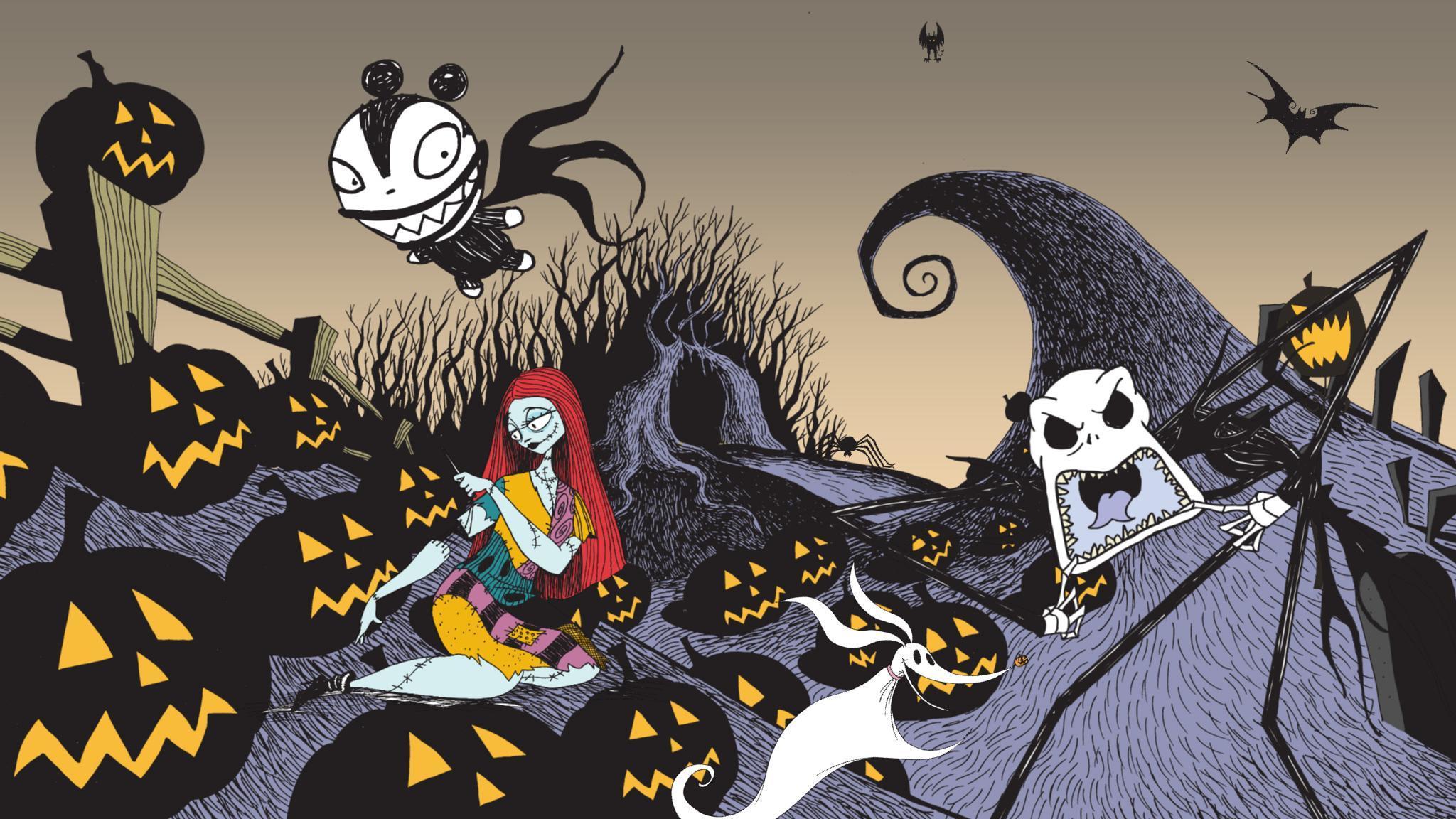 Nightmare Before Christmas Sticker Book-575f275e6c735bb683c7c90d ...