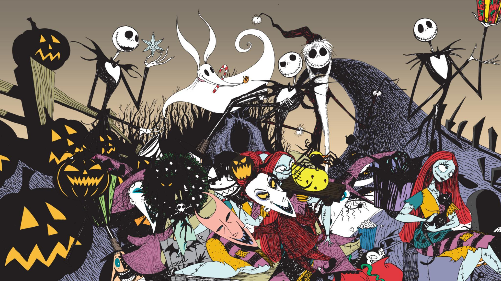 Nightmare Before Christmas Sticker Book-5767a65bc3c60e6f477d56d9 ...