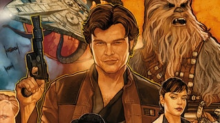 Phil Noto on His Beautiful Solo: A Star Wars Story Blu-ray Cover