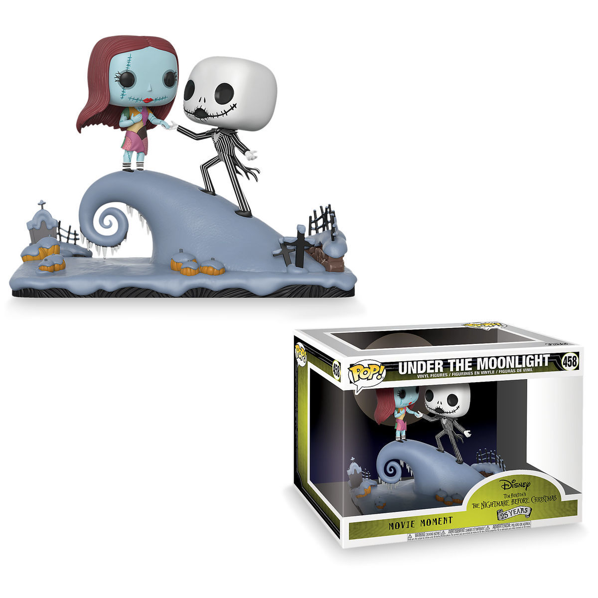 lp ost the nightmare before christmas picture disc 1a by. jack and ...