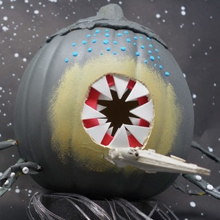 Make This Kessel Run Creature Pumpkin in Less Than 12 Parsecs