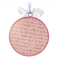 Image of Disney Princess Signatures Ornament # 2
