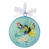 Image of Disney Princess ''Be The Hero of Your Own Story'' Ornament # 2