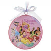Image of Disney Princess ''The Adventure Is On'' Ornament # 1