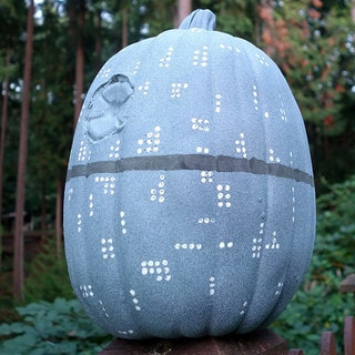 This Death Star Pumpkin Is the Ultimate Power on Halloween