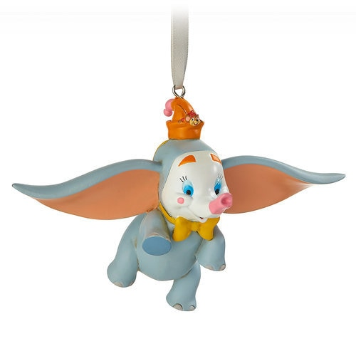 Dumbo and Timothy Mouse Figural Ornament