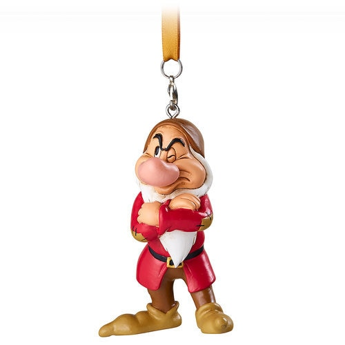 Grumpy Figural Ornament - Snow White and the Seven Dwarfs