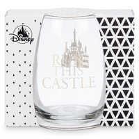 Image of Disney Princess Stemless Wine Glass # 3