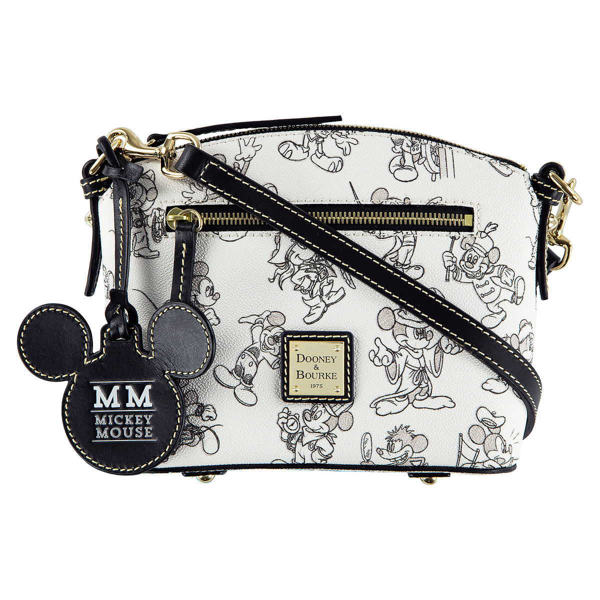 Mickey Mouse Through The Years Crossbody Bag By Dooney Bourke