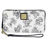 Image of Mickey Mouse Through the Years Wallet by Dooney & Bourke # 1