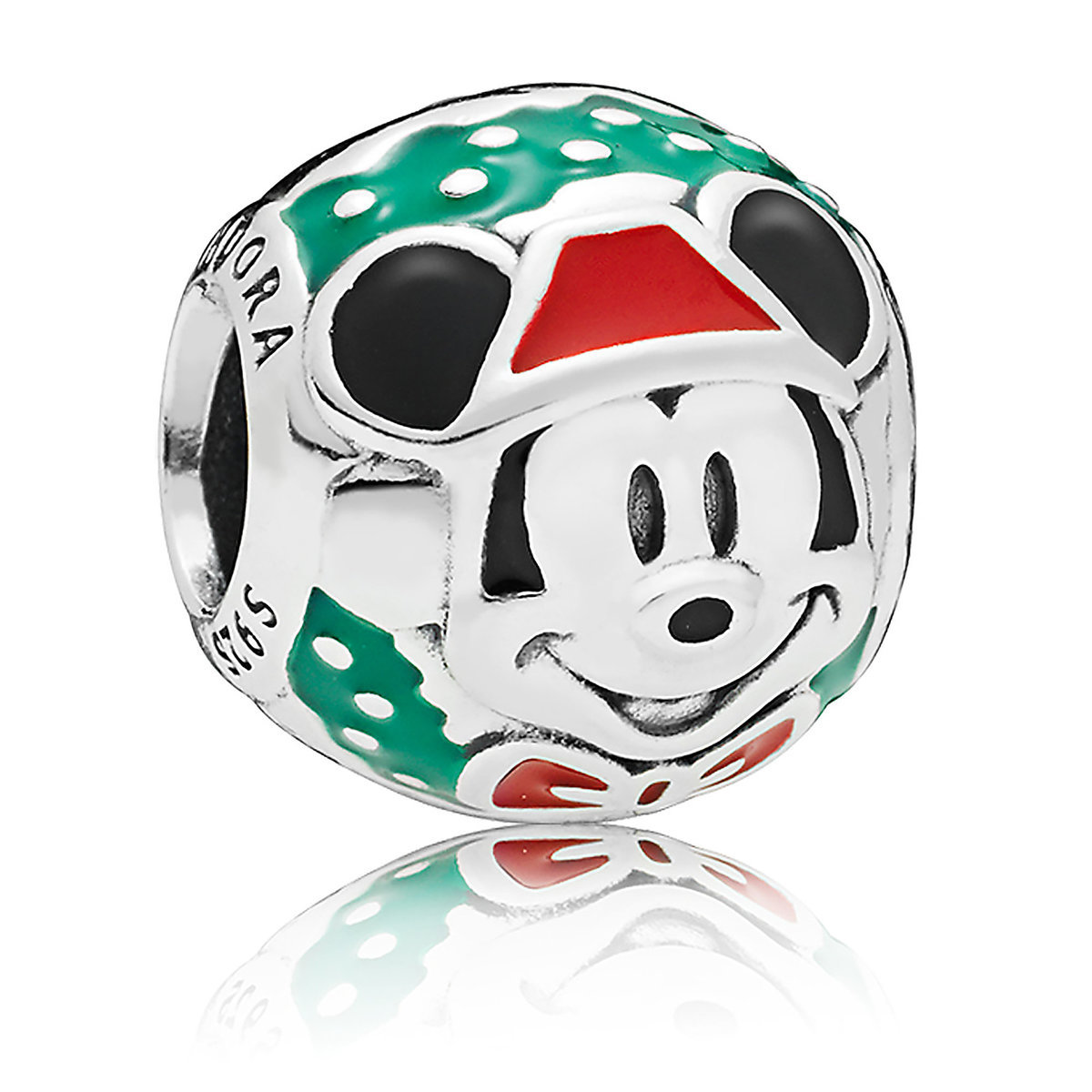 16f69849a Product Image of Santa Mickey Mouse Bead Charm by Pandora Jewelry # 1