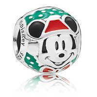 Image of Santa Mickey Mouse Bead Charm by PANDORA # 2