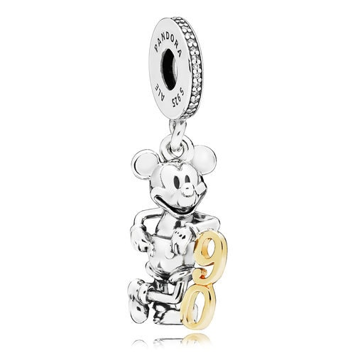 Mickey Mouse 90th Anniversary Charm by PANDORA