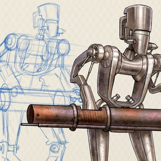 New Book Star Wars: Droidography, from Sketch to Page – Exclusive
