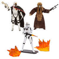Image of Star Wars Black Series Action Figure Holiday Gift Set # 1