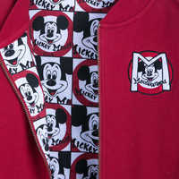 Image of Mickey Mouse Club Varsity Jacket for Women # 3