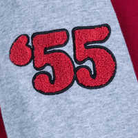 Image of Mickey Mouse Club Varsity Jacket for Women # 4