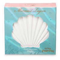 Image of Peter Pan Mermaid Lagoon Pearl Shimmer Powder Compact by Bésame # 3