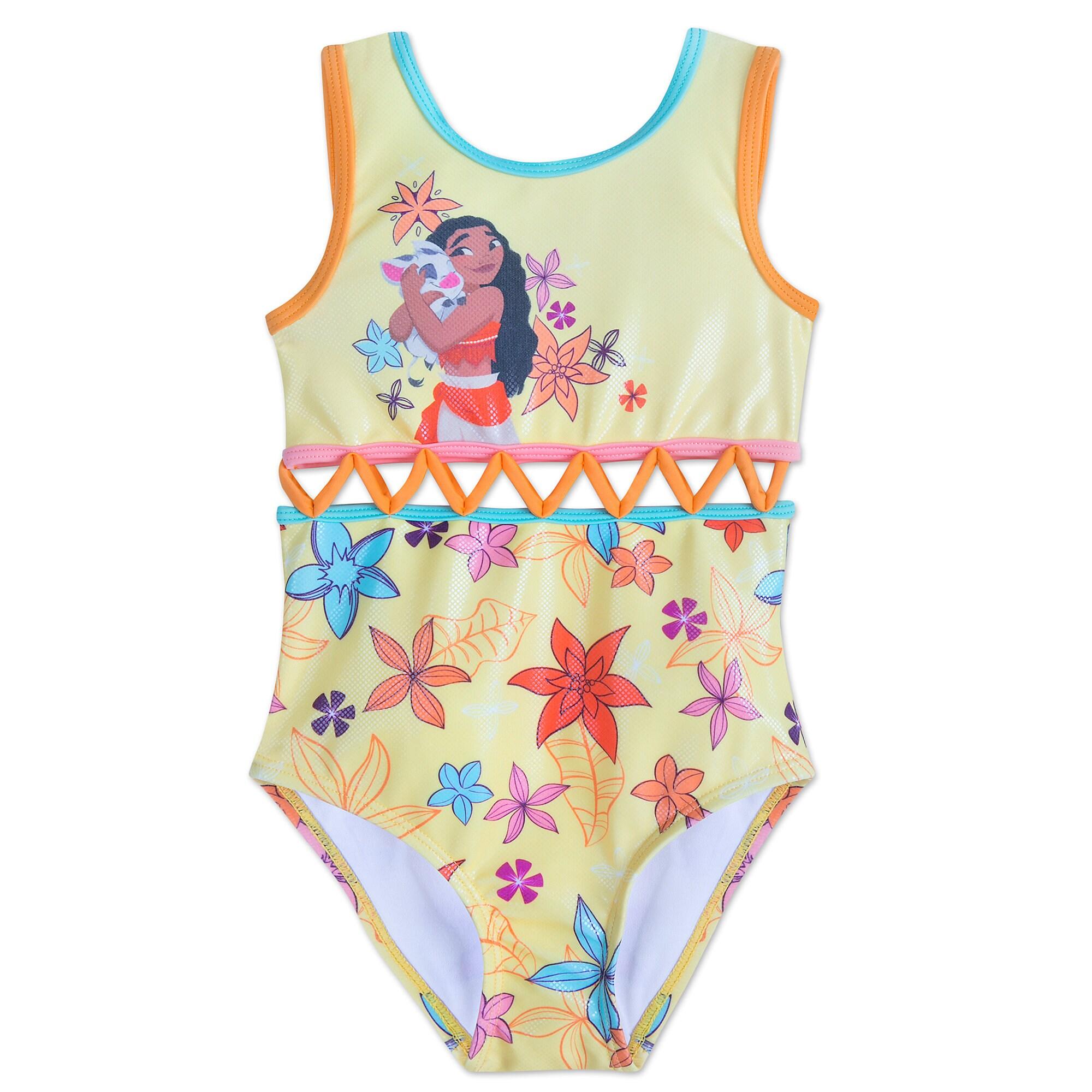 Lovely Product Image Of Moana Swimsuit For Girls # 1