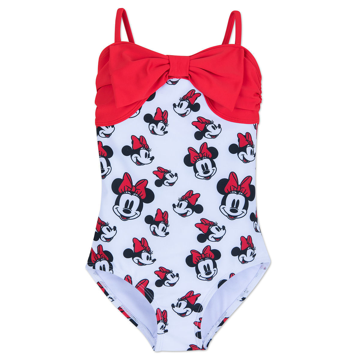 ad6db44fab968 Product Image of Minnie Mouse Swimsuit for Girls   1