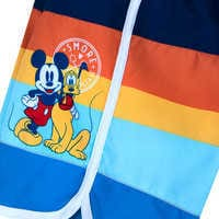 Image of Mickey Mouse and Pluto Swim Trunks for Boys # 4