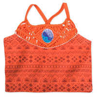 Image of Moana Deluxe Swimsuit Set for Girls # 4